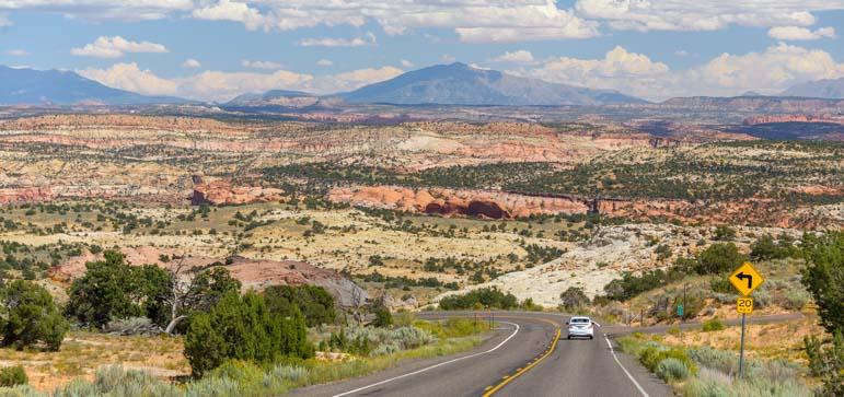 RVing Utah Scenic Byway 12