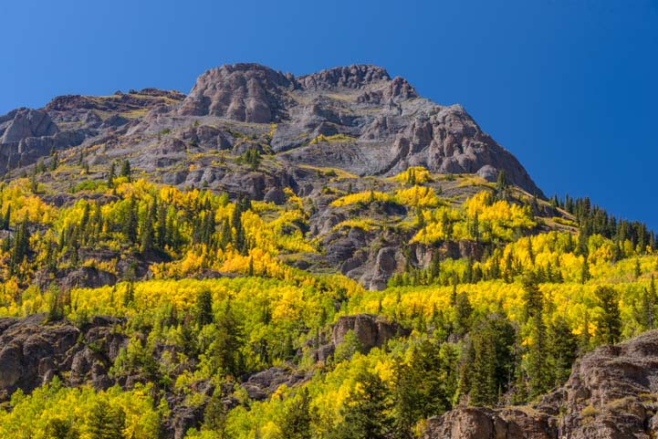 Rocky Mountains Fall Color San Juan Skyway Colorado Colorful valleys