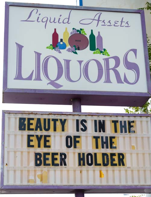 Beauty is in the Eye of the Beer Holder