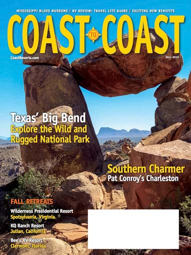 Coast to Coast Magazine Fall 2016 Cover Photo Big Bend Texas by Mark Fagan