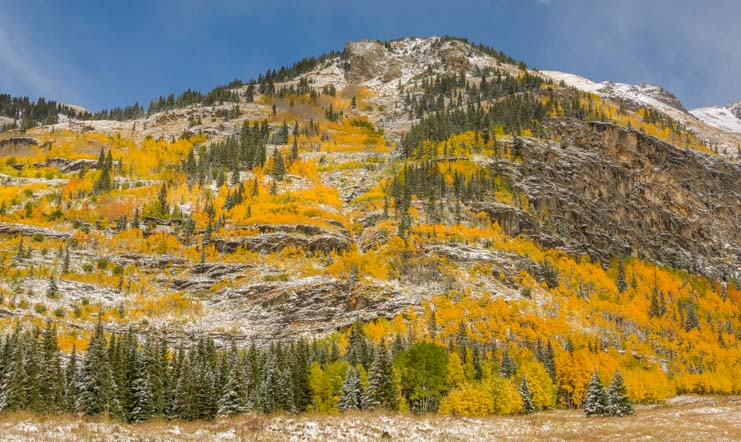 Colorado Fall Foliage San Juan Skyway Rocky Mountains