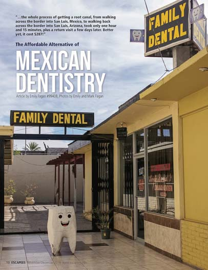 Mexican Dentistry Escapees Magazine Nov-Dec 2016