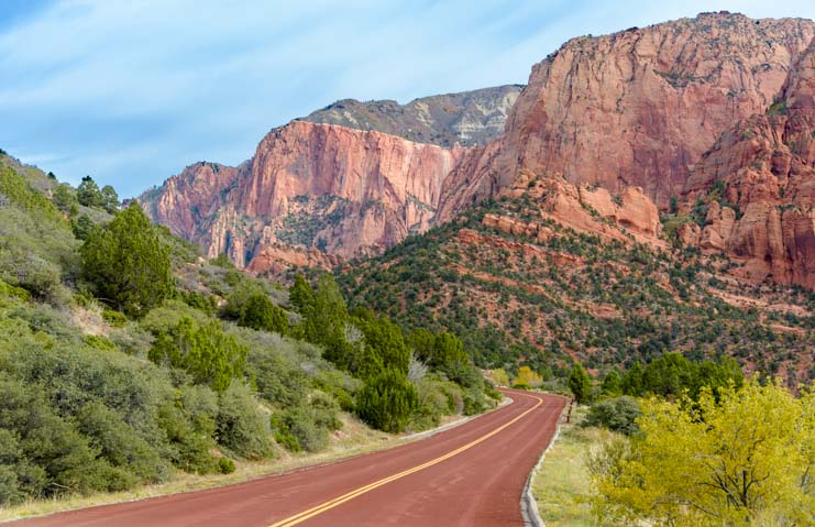 Kolob Canyons Road Scenic Drive Zion National Park Utah