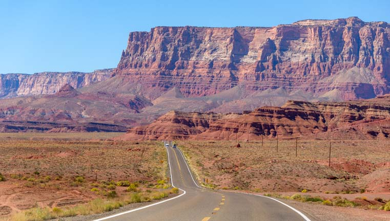 02 761 RV travel Vermillion Cliffs National Monument Arizona