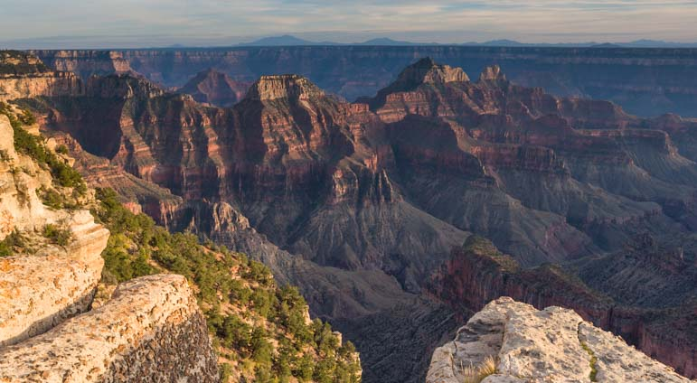 North Rim Grand Canyon Arizona overlook