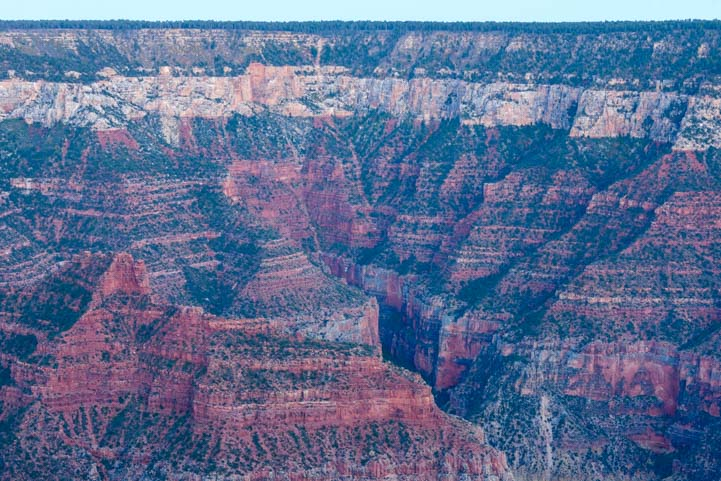 Cliffs North Rim Grand Canyon Arizona