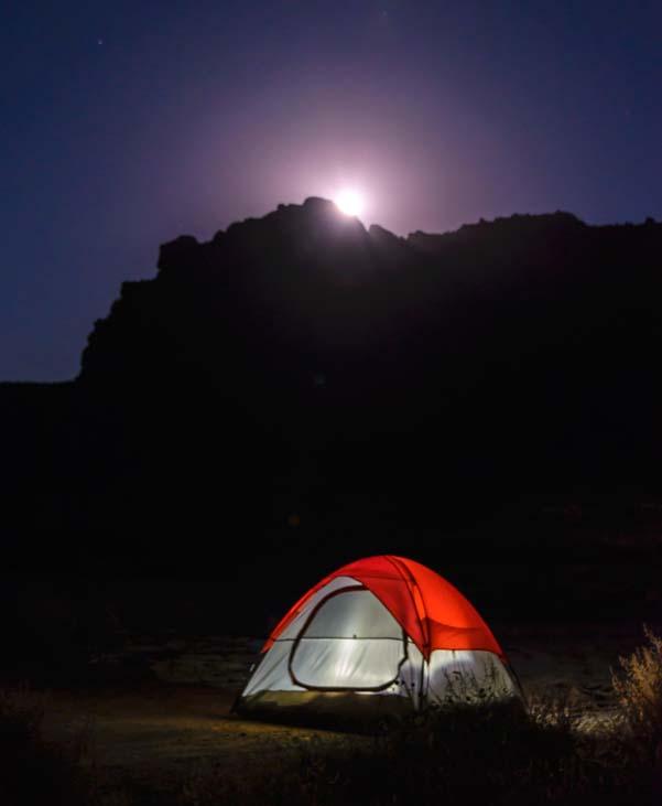 Camping Zion National Park Utah