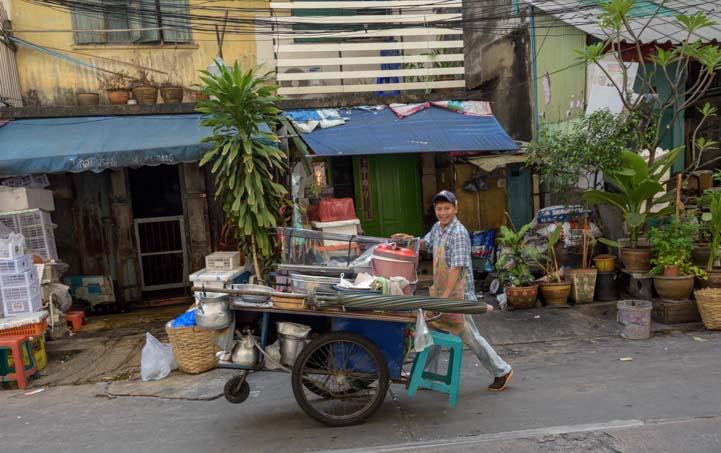 Street vendor Bangkok Thailand