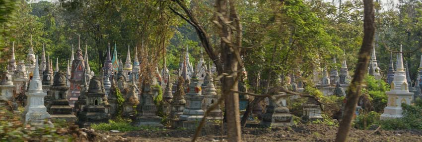 Cemetery in Thailand