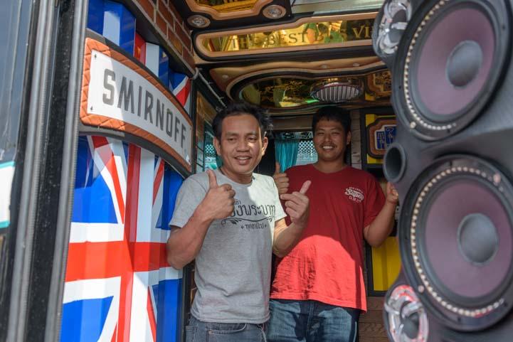 Mr Beer Bus Kanchanaburi Thailand