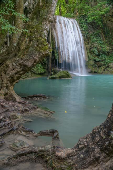 Erawan Waterfall Erawan National Park Kanchanaburi Thailand