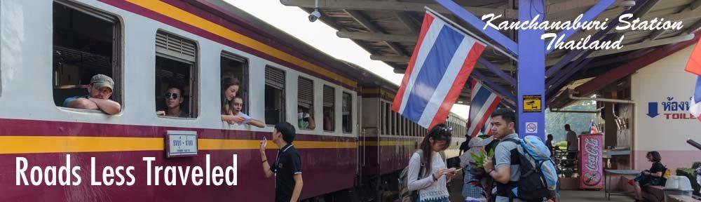 Train from Bangkok to Kanchanaburi Thailand Travel