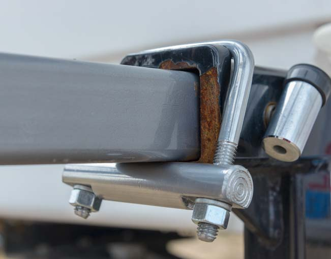 Bumper hitch tightener for car or RV hitch