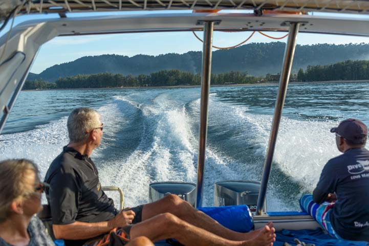 Boat ride Dive and Relax Snorkeling Tour to Ko Rok in Ko Lanta Thailand