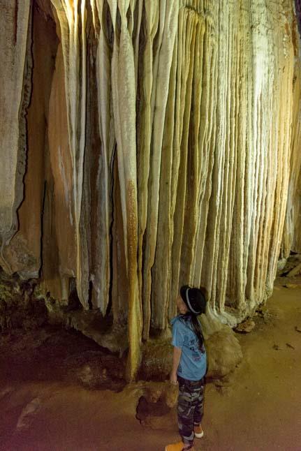 Coral Cave (Pakarang Cave) Khao Sok National Park Thailand