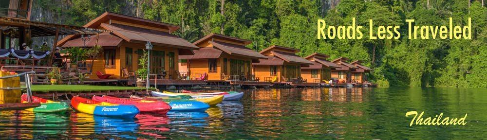 Khao Sok National Park Cheow Lan Lake Greenery Panvaree Raft House Thailand