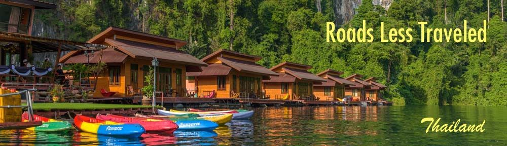 Khao Sok National Park Greenery Panvaree Raft House Cheow Lan Lake Chiew Larn Lake