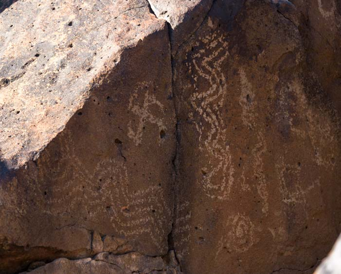 Painted Rock Petroglyphs Gila Bend Arizona