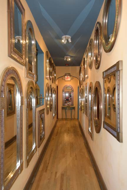 Hall of Mirrors La Posada Hotel Winslow Arizona Route 66