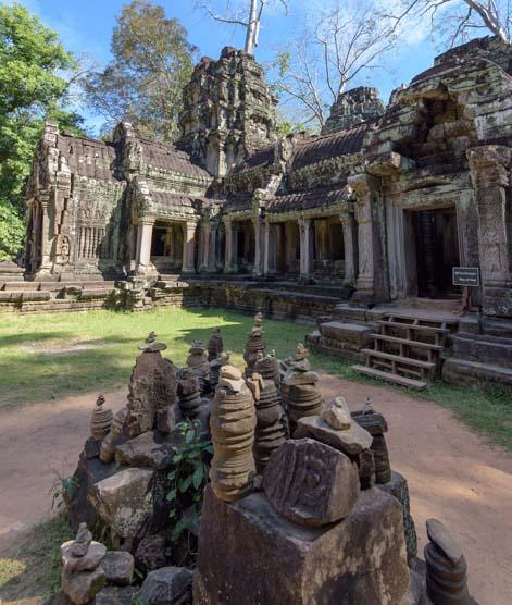 Ta Prohm ruins Siem Reap Angkor Cambodia