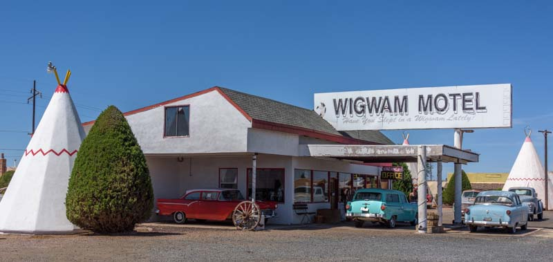 Wigwam Motel Route 66 Holbrook Arizona