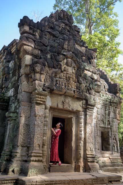 Ta Prohm ancient Khmer ruins Siem Reap Angkor Cambodia