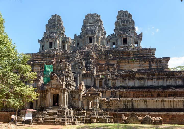 Fabulous ancient Khmer ruin Angkor Siem Reap Cambodia