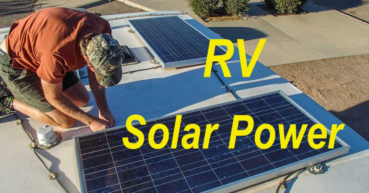 solar power for rv\u0027s and boats Solar Array Wiring