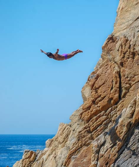 Acapulco Cliff Divers of La Quebrada