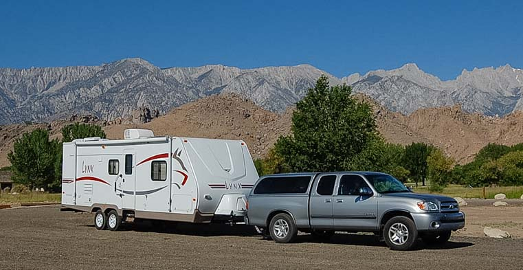1st full-time RV home travel trailer