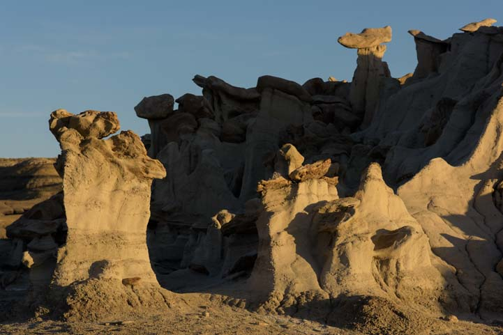 Exotic Landscapes Bisti De-Na-Zin Wilderness Bisti Badlands New Mexico