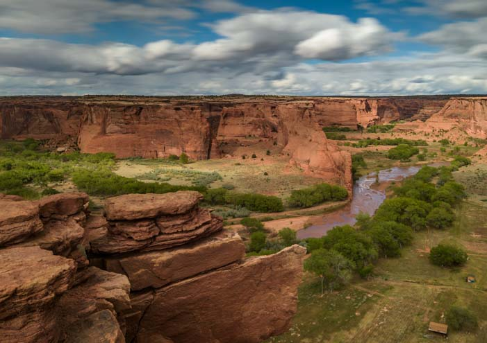 Tsegi Overlook Canyon de Chelly National Monument RV trip Arizona