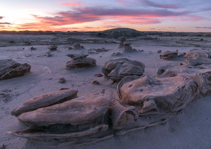 Hoodoos Bisti De-Na-Zin Wilderness New Mexico