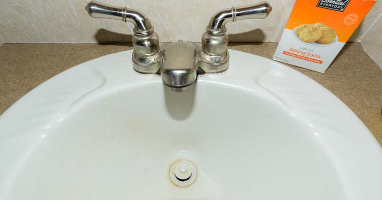 Tips for cleaning an RV sink drain