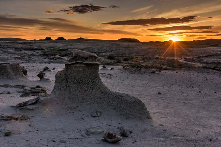 Sunset Bisti Badlands De-Na-Zin Wilderness