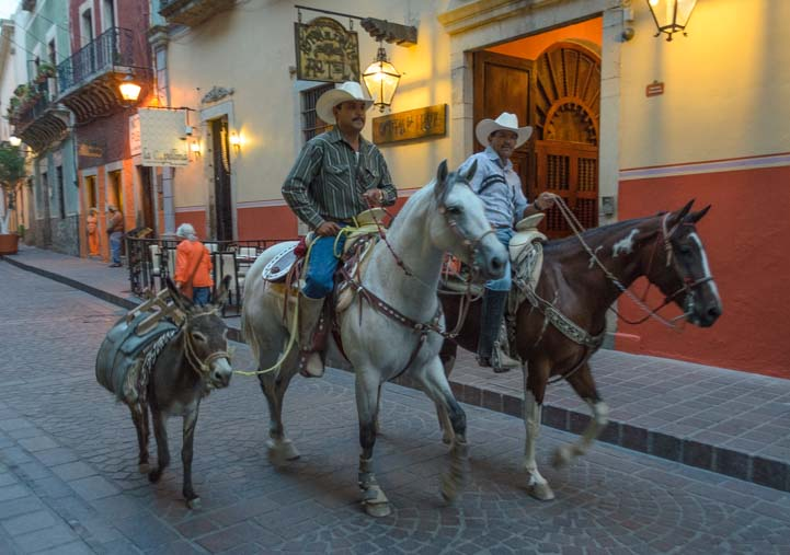 Horseback riders Guanajuato Mexico