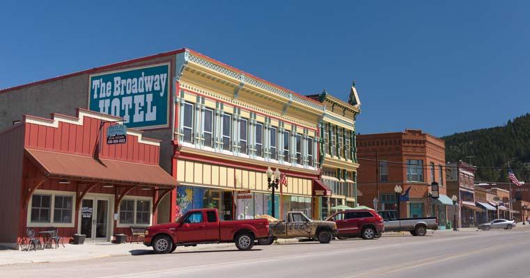Phillipsburg Montana RV Trip
