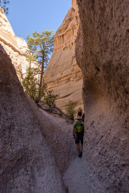 Slot Canyon Tent Rocks National Monument New Mexico