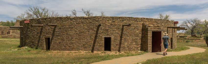 Great Kiva at Aztec Ruins National Monument New Mexico
