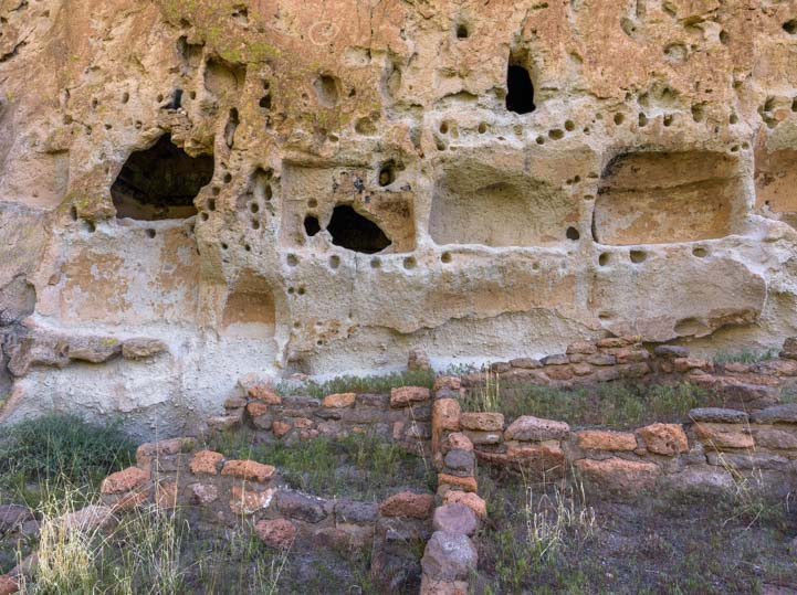 Long House Bandelier National Monument New Mexico