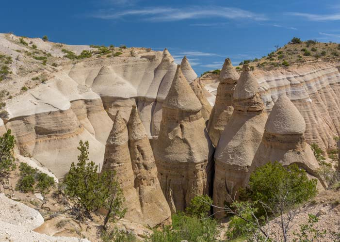 Spires at Tent Rocks National Monument New Mexico