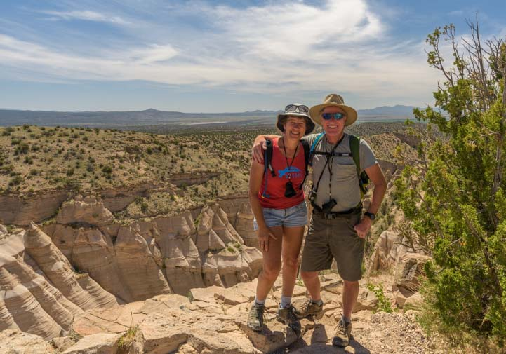 Selfie at Tent Rocks National Monument New Mexico
