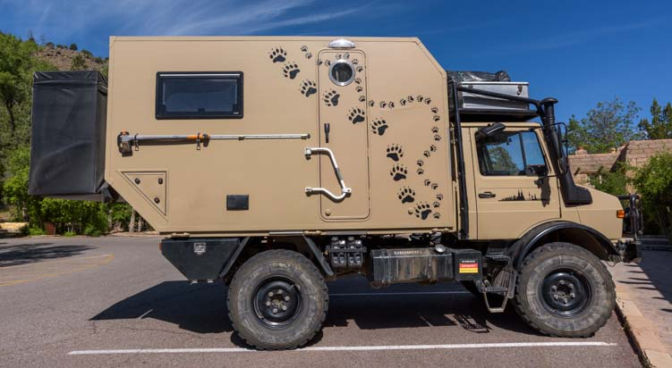 Unusual rugged RV