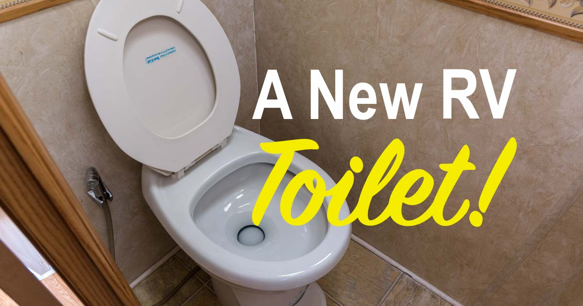 RV Toilet Replacement under an Extended RV Warranty
