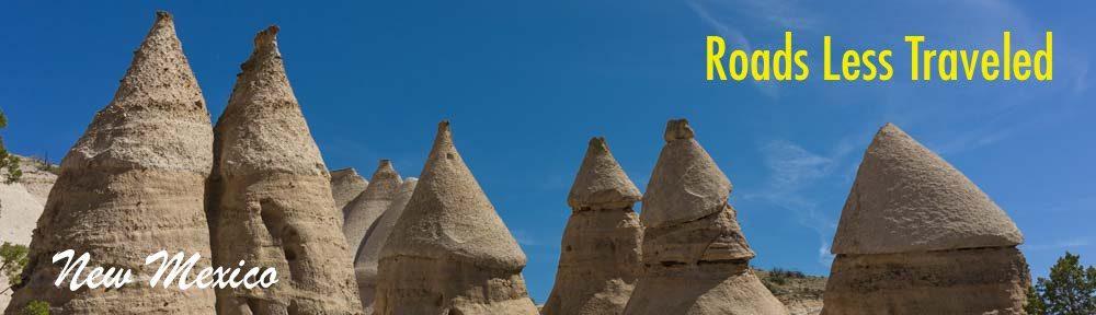 Kasha-Katuwe Tent Rocks National Monument New Mexico Hiking and RV trip