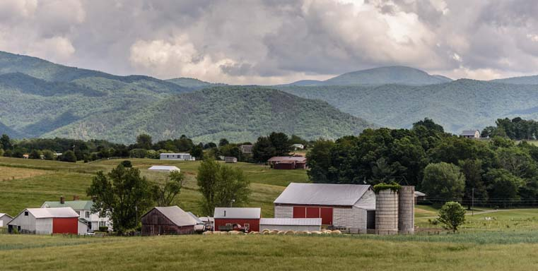 Classic Virginia Farm on the Blue Ridge Parkway RV Trip