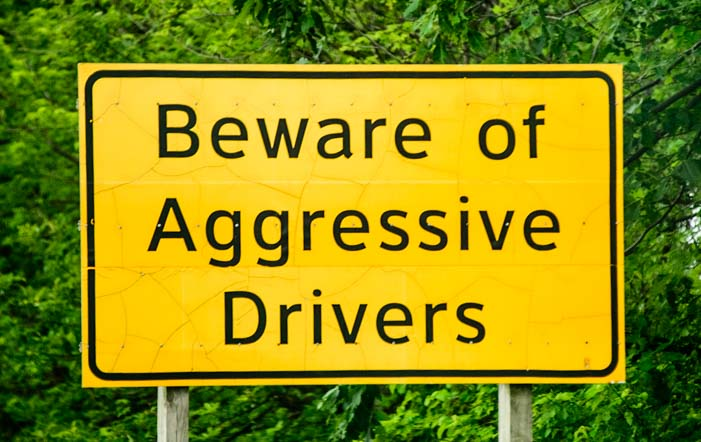 Beware of Aggressive Drivers