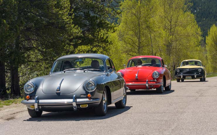 Rally for Porsche 356 Club in Colorado