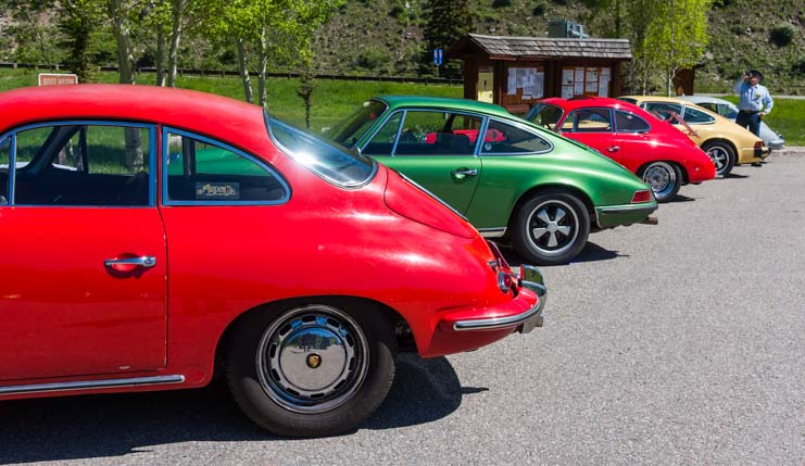 Colorado Porsche 356 Rally