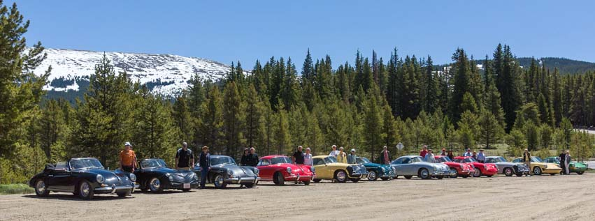 Rocky Mountains Porsche 356 Club Rally